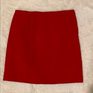 Ann Taylor Wool blend mini skirt